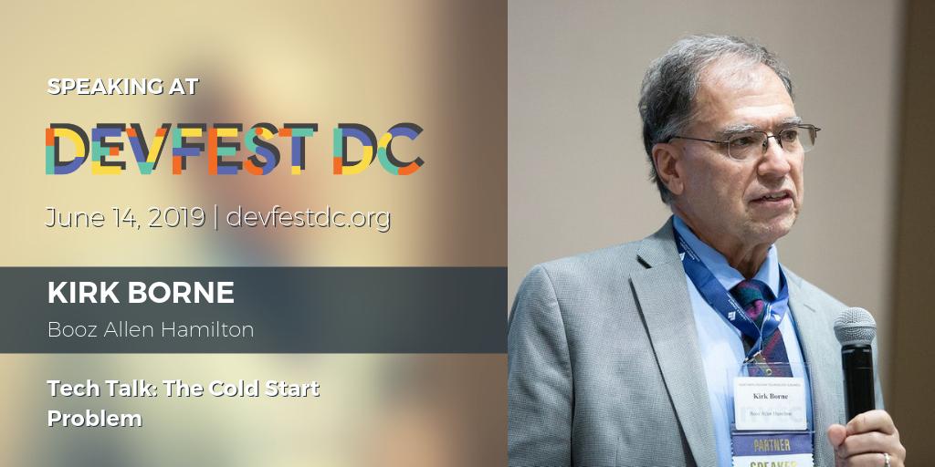 DevFestDC Kirk Borne Booz Allen Hamilton AI Machine Learning